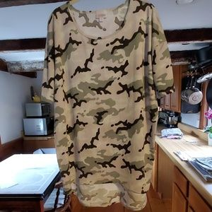 Light camo Irma tunic